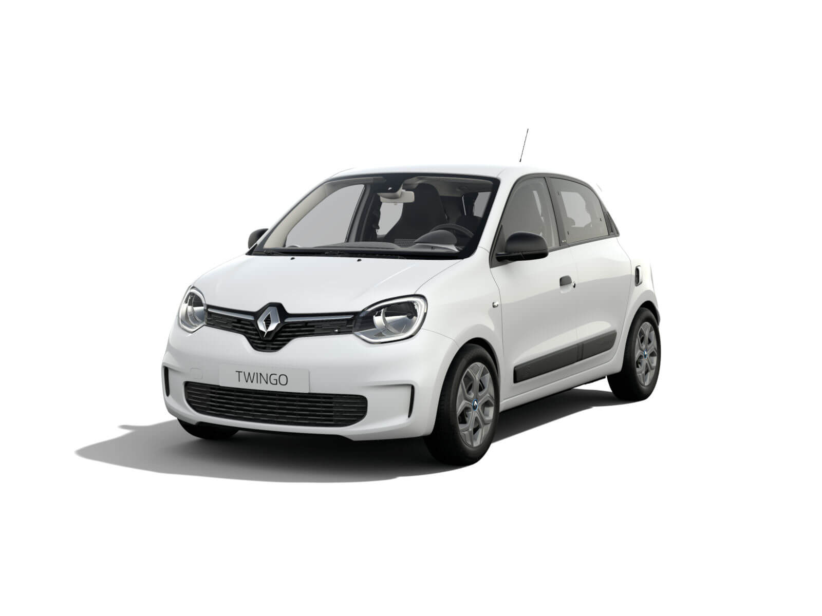 Renault TWINGO ELECTRIC (inkl. Batterie) – Kristall-Weiß